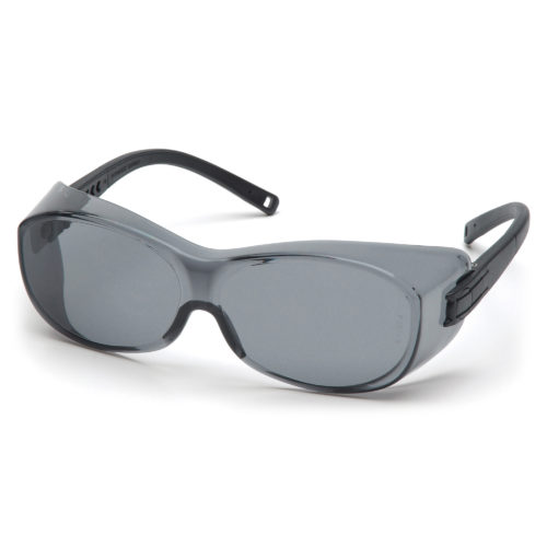 Pyramex OTS grey lens front view